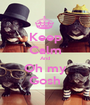 Keep Calm And Oh my Gosh - Personalised Poster A1 size