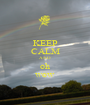 KEEP CALM AND oh wow - Personalised Poster A1 size