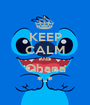KEEP CALM AND Ohana *-* - Personalised Poster A1 size