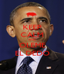 KEEP CALM AND OLEME EL DEDO - Personalised Poster A1 size