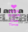 KEEP CALM AND One Time  - Personalised Poster A1 size