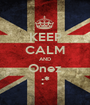 KEEP CALM AND Onez :* - Personalised Poster A1 size