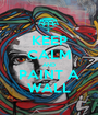 KEEP CALM AND PAINT A WALL - Personalised Poster A1 size