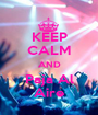 KEEP CALM AND Paja Al Aire - Personalised Poster A1 size