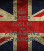 KEEP CALM AND PARABÉNS ELIANDRO - Personalised Poster A1 size