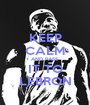 KEEP CALM AND PASS IT TO LEBRON - Personalised Poster A1 size