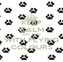 KEEP CALM AND PASS WITH FLYING COLOURS - Personalised Poster A1 size