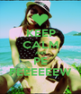 KEEP CALM AND PE PEEEEEEW - Personalised Poster A1 size