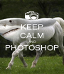 KEEP CALM AND PHOTOSHOP  - Personalised Poster A1 size