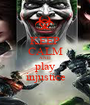 KEEP CALM AND play injustice - Personalised Poster A1 size