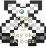 KEEP CALM AND Play like A boss - Personalised Poster A1 size
