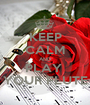 KEEP CALM AND PLAY  YOUR FLUTE - Personalised Poster A1 size