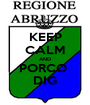 KEEP CALM AND PORCO  DIG - Personalised Poster A1 size