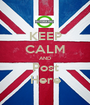 KEEP CALM AND Post Here - Personalised Poster A1 size