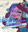 KEEP CALM AND POSTED BY: GABRIEL - Personalised Poster A1 size