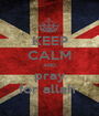 KEEP CALM AND pray for allah  - Personalised Poster A1 size