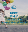 KEEP CALM AND Prepare for Semester xam ! - Personalised Poster A1 size