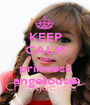 KEEP CALM AND princess angelouse - Personalised Poster A1 size