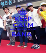 KEEP CALM AND PROUD TO BE BANA   - Personalised Poster A1 size