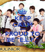 """KEEP CALM AND PROUD TO BE """"E.L.F."""" - Personalised Poster A1 size"""