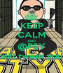 KEEP CALM AND @PSY will tweet you - Personalised Poster A1 size