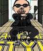 KEEP CALM AND @PSY Will tweet - Personalised Poster A1 size