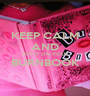 KEEP CALM AND PUT IT ON YOUR BURNBOOK  - Personalised Poster A1 size