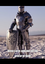 Keep calm and put on the armor of god! - Personalised Poster A1 size