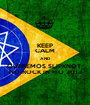 KEEP CALM AND QUEREMOS SLIPKNOT  NO ROCK IN RIO 2013 - Personalised Poster A1 size