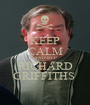 KEEP CALM AND R.I.P RICHARD GRIFFITHS  - Personalised Poster A1 size
