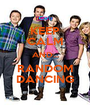 KEEP CALM AND... RANDOM DANCING - Personalised Poster A1 size