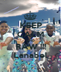 KEEP CALM AND RAW !!! Lanabel - Personalised Poster A1 size