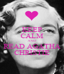 KEEP CALM AND READ AGATHA CHRISTIE - Personalised Poster A1 size