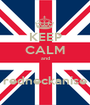 KEEP CALM and  redneckanise - Personalised Poster A1 size