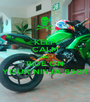 KEEP CALM AND RIDE ON YOUR NINJA 650R - Personalised Poster A1 size