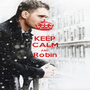 KEEP CALM AND Robin  - Personalised Poster A1 size