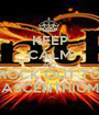 KEEP CALM AND ROCK OUT TO ASCENTHIUM - Personalised Poster A1 size