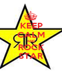 KEEP CALM AND ROCK STAR - Personalised Poster A1 size