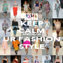 KEEP CALM AND ROCK UR FASHION STYLE - Personalised Poster A1 size