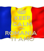 KEEP CALM AND ROMANIA  TI AMO - Personalised Poster A1 size