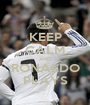 KEEP CALM AND RONALDO PLAYS - Personalised Poster A1 size