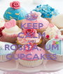 KEEP CALM AND ROSITA, UM CUPCAKES - Personalised Poster A1 size