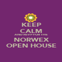 KEEP CALM AND RSVP FOR THE NORWEX OPEN HOUSE - Personalised Poster A1 size