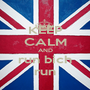 KEEP CALM AND run bich run - Personalised Poster A1 size