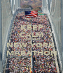 KEEP CALM AND RUN NEW YORK  MARATHON - Personalised Poster A1 size