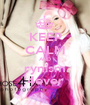 KEEP CALM AND rynism 4ever - Personalised Poster A1 size