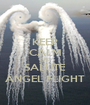 KEEP CALM AND SALUTE ANGEL FLIGHT - Personalised Poster A1 size