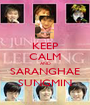KEEP CALM AND SARANGHAE SUNGMIN - Personalised Poster A1 size
