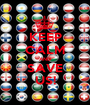 KEEP CALM AND SAVE US! - Personalised Poster A1 size