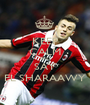 KEEP CALM AND SAY EL SHARAAWY - Personalised Poster A1 size